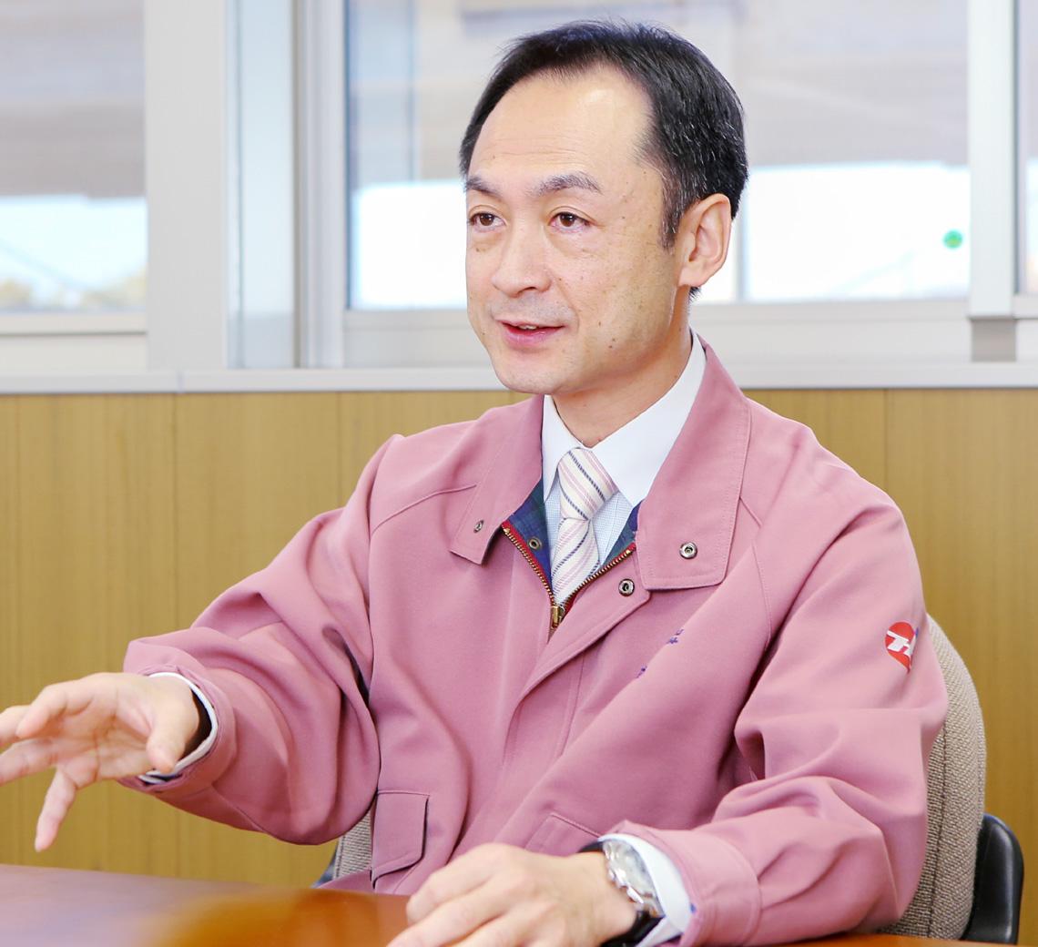 代表取締役社長 水島 正芳