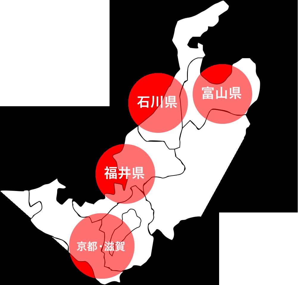 福井県全域